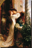 Romeo and Juliet Stretched Canvas Print by Frank Bernard Dicksee