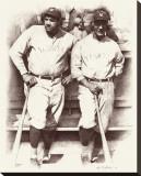 Ruth et Gehrig Toile tendue sur châssis par Allen Friedlander