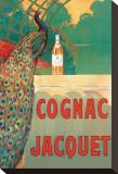 Cognac Jacquet Opspændt lærredstryk af Camille Bouchet