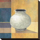 Potter Vase II Stretched Canvas Print by Felix Latsch