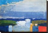 Noon Landscape Stretched Canvas Print by Nicolas De Staël