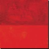 Rouge Marilyn Reproduction transférée sur toile par Carmine Thorner