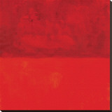 Marilyn Crimson Reproducción en lienzo de la lámina por Carmine Thorner