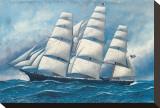 Gloria de los mares Reproducción en lienzo de la lámina por Antonio Jacobsen