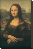 Mona Lisa Stretched Canvas Print by  Leonardo da Vinci