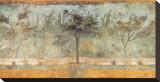 Pompeian Art, Garden Fresco I Stretched Canvas Print