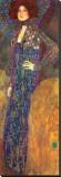 Emilie Floege Stretched Canvas Print by Gustav Klimt