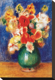 Bouquet de Fleurs, 1905 Stretched Canvas Print by Pierre-Auguste Renoir