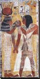 Tomb of Seti I Stretched Canvas Print