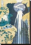 Cascade of Amida, Province of Kiso, c.1830 Leinwand von Katsushika Hokusai