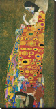 Die Hoffnung II Stretched Canvas Print by Gustav Klimt