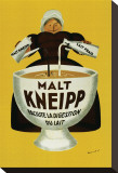 Malt Kneipp Stretched Canvas Print by Beuville