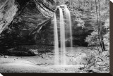 Waterfall, Hocking Hills State Park, Ohio Stretched Canvas Print