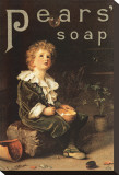 Pear's Soap, 1886 Stretched Canvas Print
