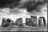 Stonehenge Stretched Canvas Print