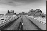 Road to Monument Valley, Arizona Reproduction transférée sur toile