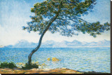 Antibes, c.1888 Stretched Canvas Print by Claude Monet