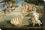 Birth of Venus Stretched Canvas Print by Sandro Botticelli