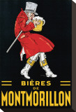 Bieres de Montmorillon Stretched Canvas Print