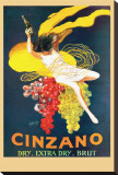 Cinzano Brut Stretched Canvas Print by Leonetto Cappiello