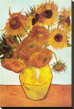 Sunflowers, c.1888 Stretched Canvas Print by Vincent van Gogh