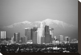 Los Angeles Stretched Canvas Print