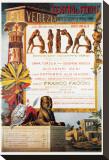 Verdi, Teatro La Fenice, Aida Stretched Canvas Print
