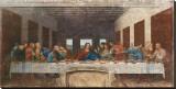 La Cène, vers 1498 Reproduction sur toile tendue par  Leonardo da Vinci