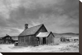 Bodie Black and White Stretched Canvas Print by Stephanie Laird