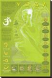 Yoga and Its Symbols Stretched Canvas Print