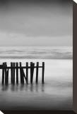 Old Pier I Sträckt Canvastryck av Shane Settle