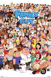 Family Guy Characters Prints