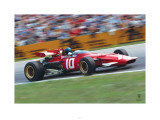 Ferrari F1 Vintage Ickx Race Prints