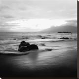 Coastal Rocks in Hawaii Stretched Canvas Print by Shane Settle