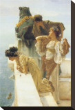 A Coign of Vantage Stretched Canvas Print by Sir Lawrence Alma-Tadema