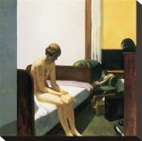 Chambre d'hôtel Reproduction sur toile tendue par Edward Hopper