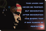 Barack Obama, This Union Stretched Canvas Print