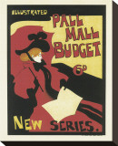 Illustrated Pall Mall Budget, New Series, c.1894 Stretched Canvas Print by Maurice Greiffenhagen