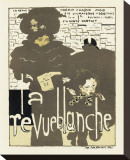 Magazine La Revue Blanche, c.1894 Stretched Canvas Print by Pierre Bonnard