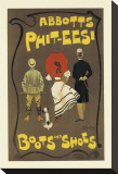Abbotts Phit-Eesi Boots And Shoes Reproduction transférée sur toile par Dudley Hardy