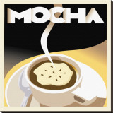Deco Mocha II Stretched Canvas Print by Richard Weiss