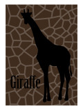 Giraffe Giclee Print by Ikuko Kowada