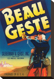 Beau Geste Stretched Canvas Print