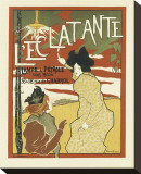 L'Eclatante Lampe A Petrole Sans Meche Stretched Canvas Print by Manuel Robbe