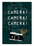 Camera Green Giclee Print by Ikuko Kowada