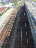 Railroad Line Photographic Print by Ryuji Adachi