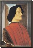 Giuliano de Medici Stretched Canvas Print by Sandro Botticelli