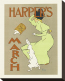 Harper's Magazine, March 1894 Stretched Canvas Print by Edward Penfield