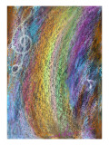 Waterfall of Rainbow Color in a Mountain Giclee Print by Mariko Miyake