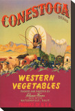Conestoga Brand Western Vegetables Stretched Canvas Print